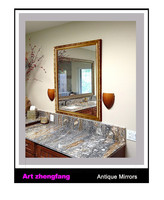 Hand made bathroom wood decorative mirror frame