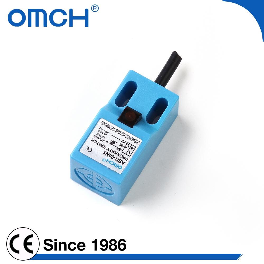 Omch Ce Sn04 Inductive 5mm Distance Rectangular Proximity Switch ...