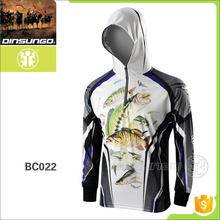 China professional OEM fishing shirts UV protection fishing <strong>wear</strong>