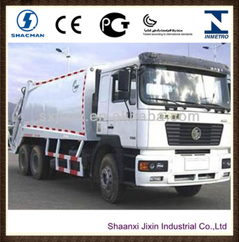 shacman and japan diesel garbage truck