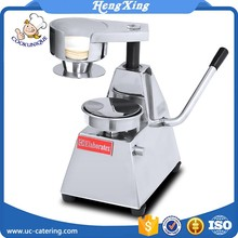 Prices for 304 stainless steel automatic manual hamburger patty press making machine