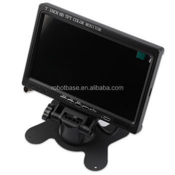 7 Inches TFT LCD Color Monitor For Raspberry Pi 2 or Pcduino