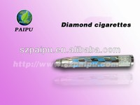 New product electronic cigarette Health E Cigarette with Crystal Diamond Cigarette Diamond Battery CHEAP PRICE!!!