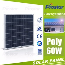 High Quality Poly Solar Panel in China Poly Solar Panel With Lower Price 60W Solar Panel 12V PV Modules