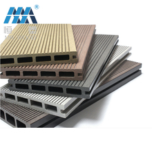 Fire resistance wpc wood plastic composite bamboo laminate flooring composite decking for park