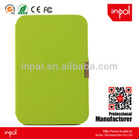 "OEM/ODM mint green flip pu leather case for samsung galaxy note 8"" N5100"