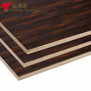 High Quality Different Color Double Sided Melamine Laminated Plywood / Particle Board / MDF
