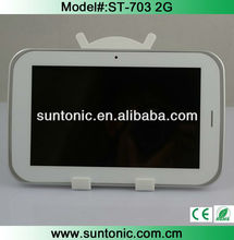 7 inch 2G voice call tablet MTK 6515 with A-GPS,bluetooth,HD screen,etc