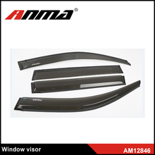 Black injection Wholesale Side Car Window Visors Deflectors