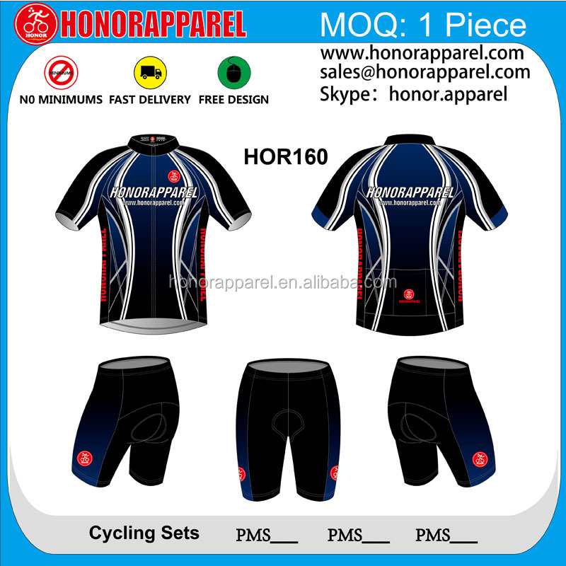 OEM Service Custom Sublimation club kits cycling bike jerseys wear and shortsm / cycling set/cycling suit