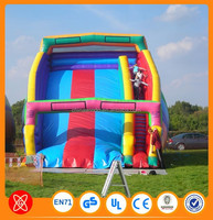 Outdoor sport games popular in USA inflatable stair slide toys