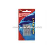 New design good price 5 pieces silver hand sewing needles