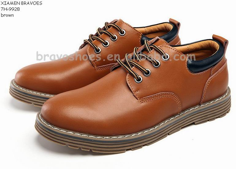 best fashion thick sole mens leather upper casual shoes