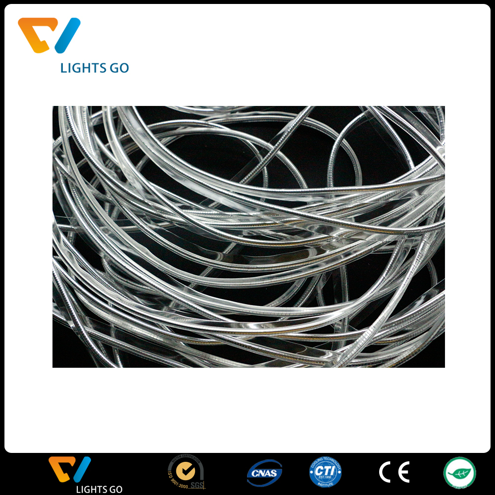 high light frequency plastic PVC reflective piping with reflective rope