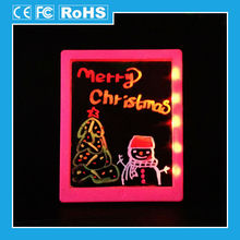 Promotion christmas kids magic drawing board