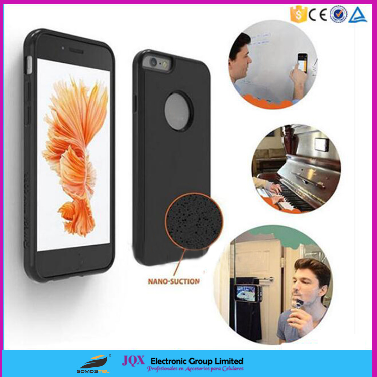 [Somostel] Nano Suction Magical Sticky Mobile Phone Anti-Gravity case for samsung galaxy note5