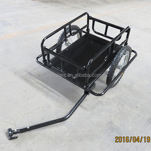 Wholesale supply bicycle trailer folding cargo/dog bike trailer for sale
