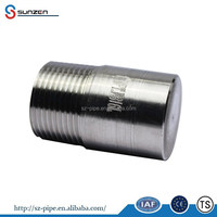 A316 stainless steel high pressure threaded round head plug