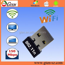 ralink rt5370 802.11n 150mbps wifi usb adapter 10 year factory oem 150Mbps with AP mode free driver