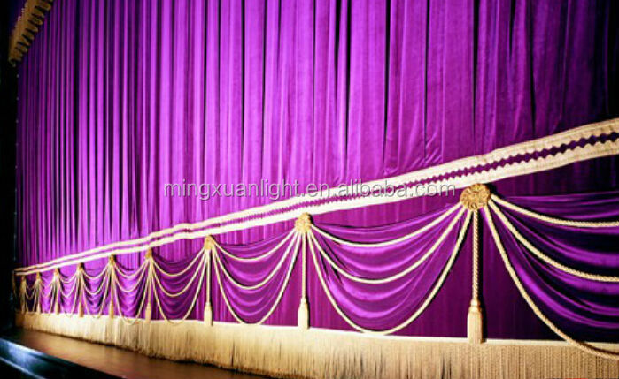 Electric Stage Curtain/Theater Curtain /Backdrops /Drapery (YS-1004)