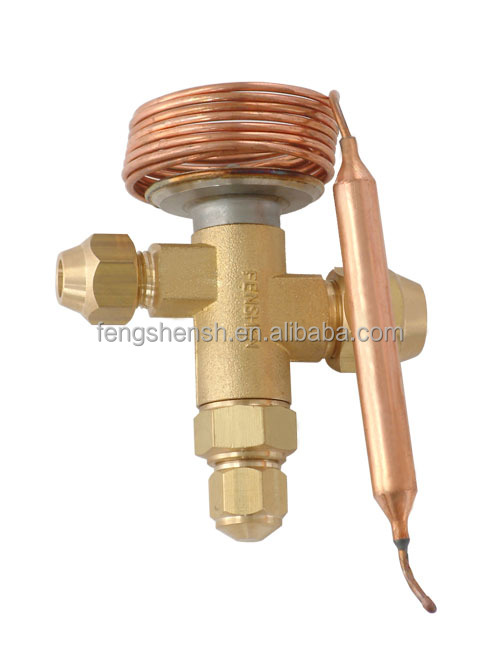Thermostatic expansion valve switch