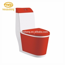 China supply ceramic colorful economic color siphonic ladies toilet