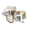 From manufacturing factory kraft liner board paper making machine, small waste paper recycling machinery