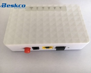 Fiber optic network 1port 2port 4port 16port 1GE WIFI FTTH GPON EPON ONU
