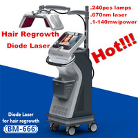 Promotion!!! Effective Laser hair growth machine/hair regrowth treatment for men