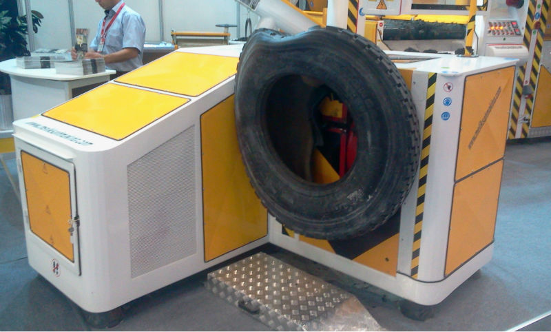 RECYCLE TYRE MACHINE