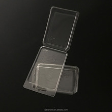 china supplier clear hard plastic electronic cosmetic packaging box