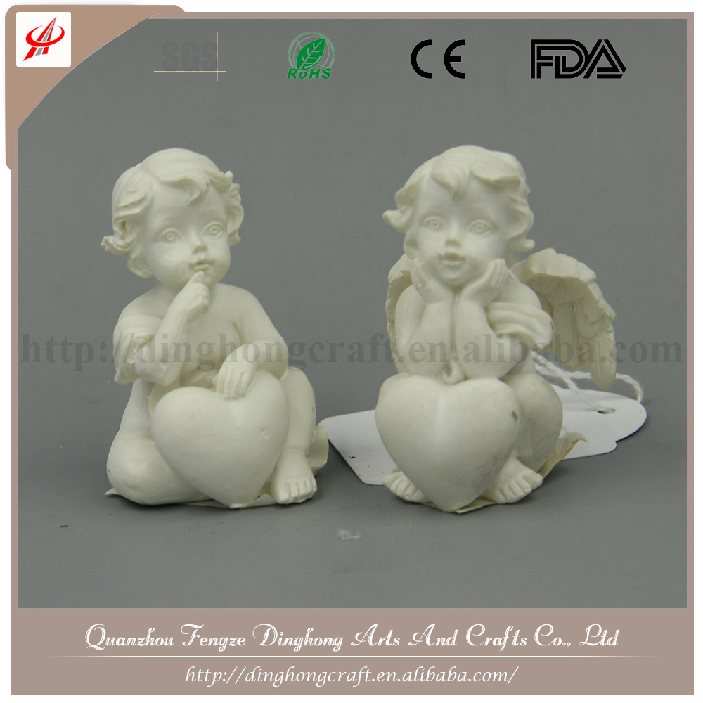 Resin Crafts White Angel,Unique Angel Home Decorations Resin Craft Sonny Angel Figurine