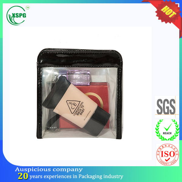 Transparent luxury label kiss beauty cosmetic makeup kit