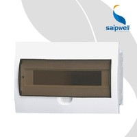 18 Ways IP65 Hot Sale Cheap Price New Design Waterproof Electrical Distribution Box Size for Home Use