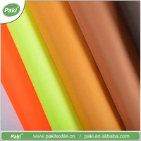 Factory direct custom best quality polyester pvc coated fabric for bags