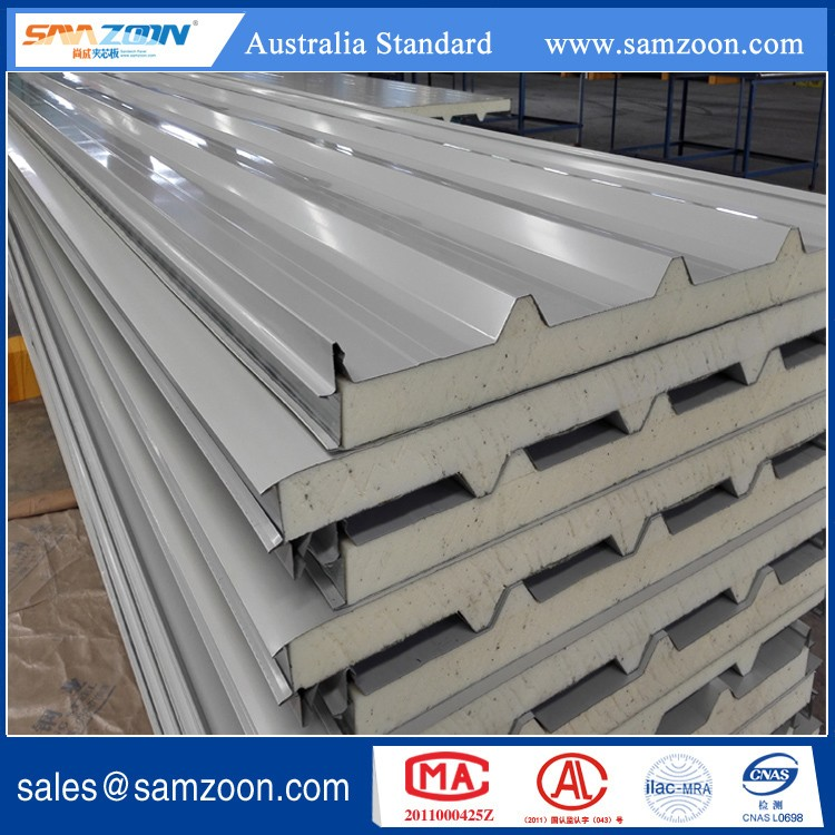 PU/PIR Polyurethane sandwich panel for roof board