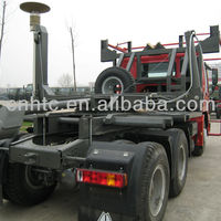 HOWO 6x4 Log Transport Trailer