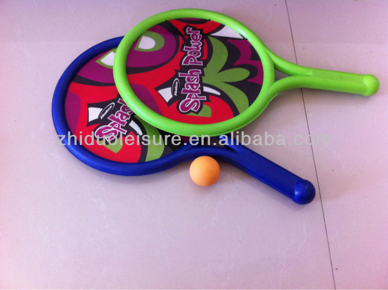 Full color beach racket Plastic racket