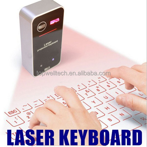 2015 New Android Wireless Portable Full-Size Virtual Laser Keyboard Mouse Bluetooth