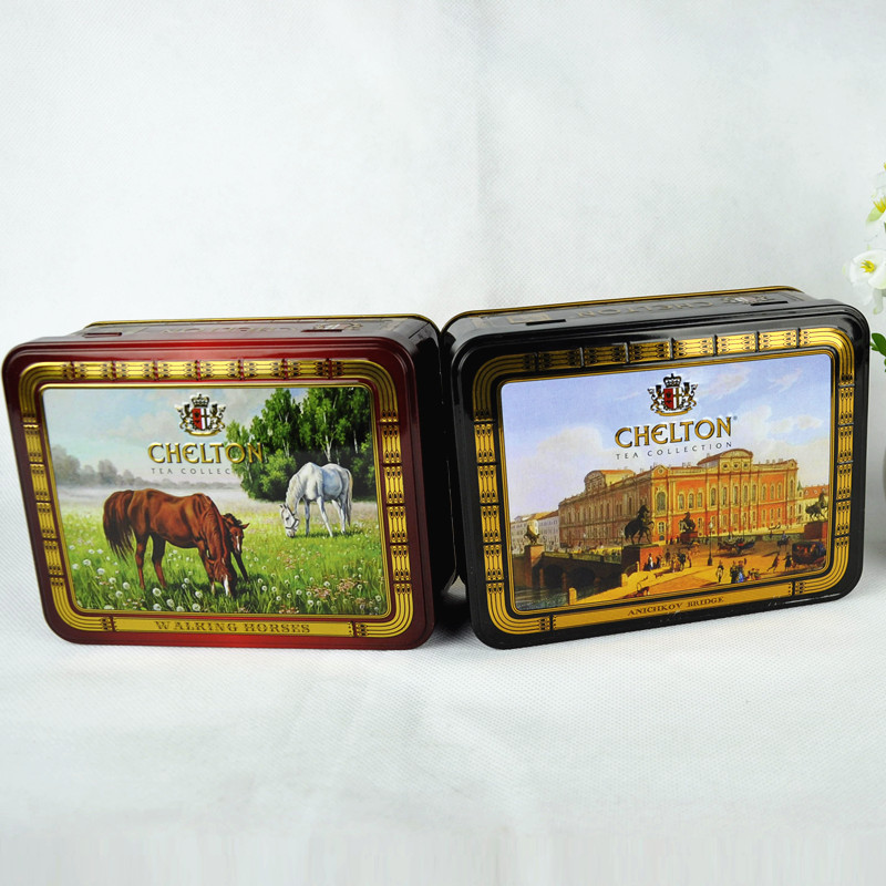 Wholesale rectangle high quality buy empty coffee tin cans