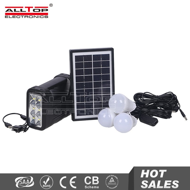OEM design portable solar power panel home system with battery