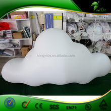 White Cloud Shaped Balloon, Inflatable Cloud Decoration