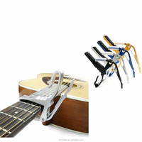 Drop Shipping Accessories world musical instrument korea Metal Acoustic Electric Quick Change Four Colors Guitar Capo