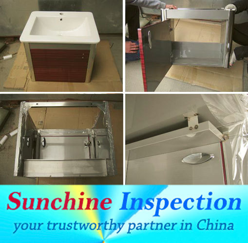 China professional sanitary equipment loading quality check inspection service