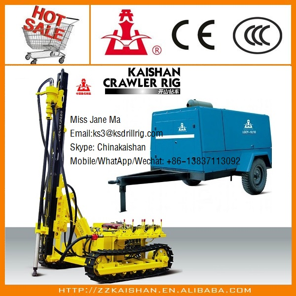 Kaishan brand new model KY100J mining rock drilling machine / coal mining rock drills