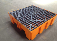 2016 high quality four drum Spill Containment pallet in stock