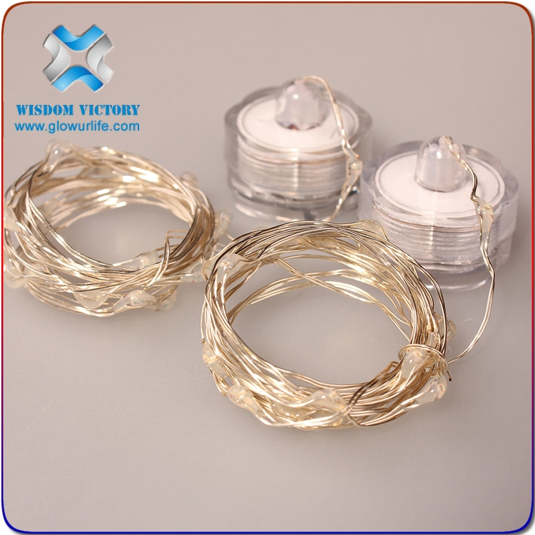 led copper wire string lights , christmas led submersible wire string light fairy lights