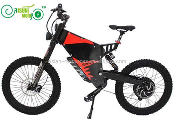 RisunMotor Exclusive Customized Super Mountain Electric Bike 48V 1500W FC-1 Stealth Bomber Electric bicycle