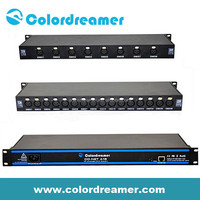 Colordreamer Madrix RJ45 nightclub equipment 16universe dmx led controller 512ch