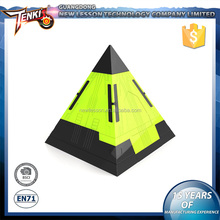 pyramid shape plastic abs changeable tobot transforming robot toy